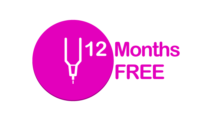 Get up to 12 Months Free when you post a YouTube video or Write a review